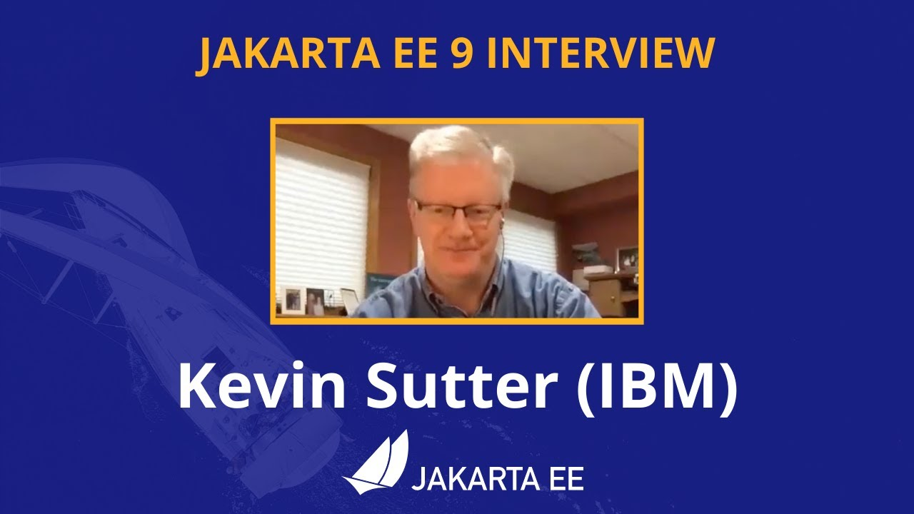 JakartaEE Interview with Kevin